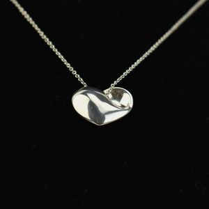 TIFFANY & CO Sterling Full Heart Necklace (uu)